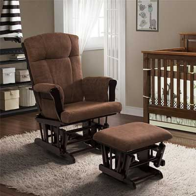 Elegant Baby Relax Espresso Glider and Ottoman Review - Fresh rocker and ottoman Photos