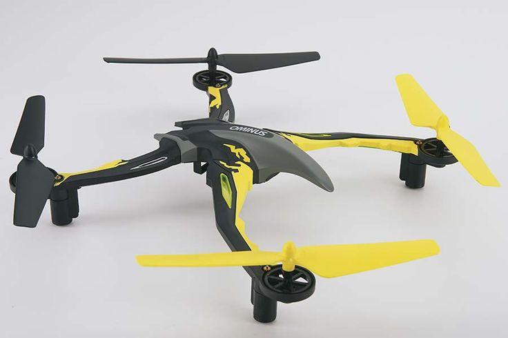 Super sjov drone fra Dromida. Testfløjet ved vindstød op til 12m/s Dromida Ominus Drone - Gul