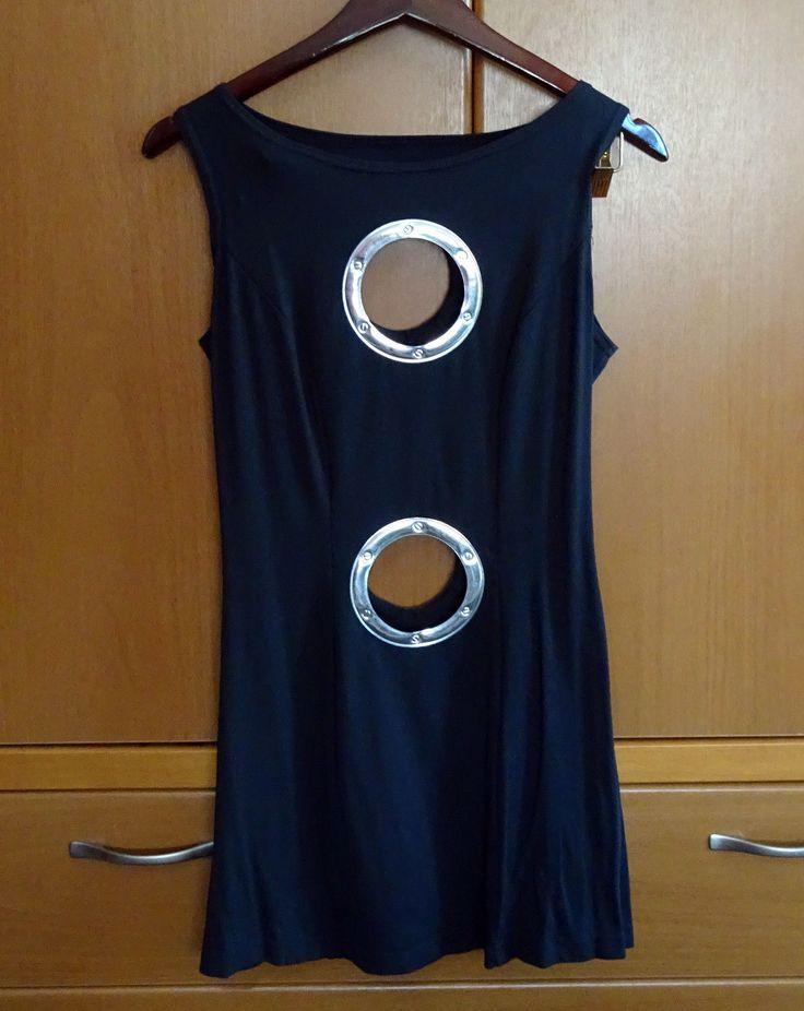 """CYBERDOG """"Porthole"""" mini dress - OS"""