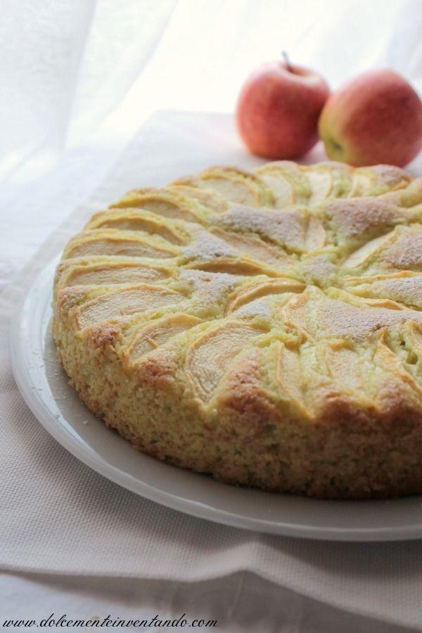 torta di mele e lime curd