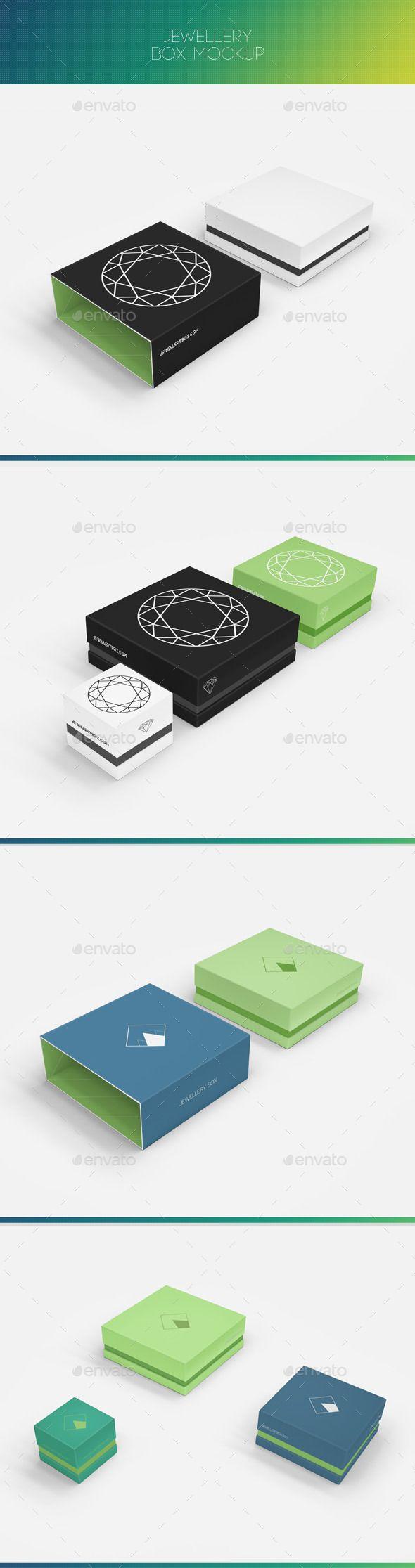 Jewellery Box Mock-up | #boxmockup | Download: http://graphicriver.net/item/jewellery-box-mockup/9269397?ref=ksioks