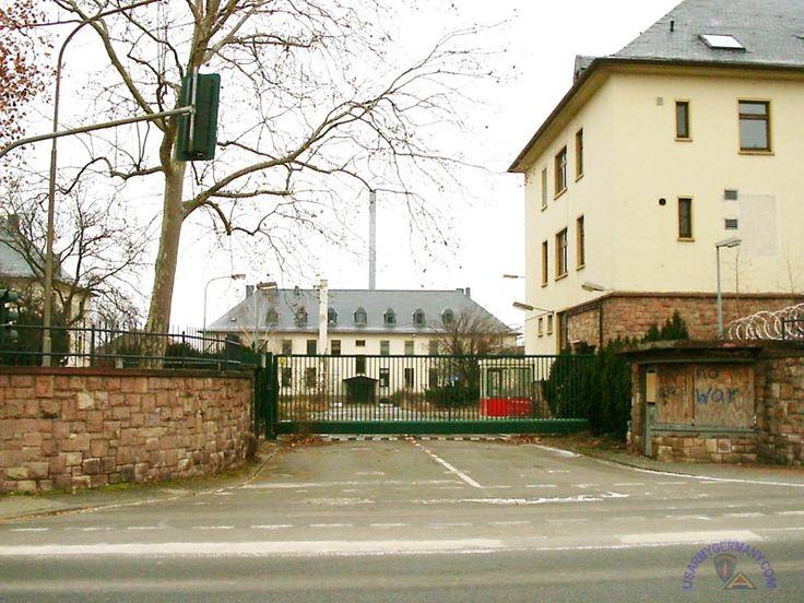 Rose Barracks Bad Kreuznach | rose barracks bad kreuznach 2006 source rodrigo gebhard main gate area