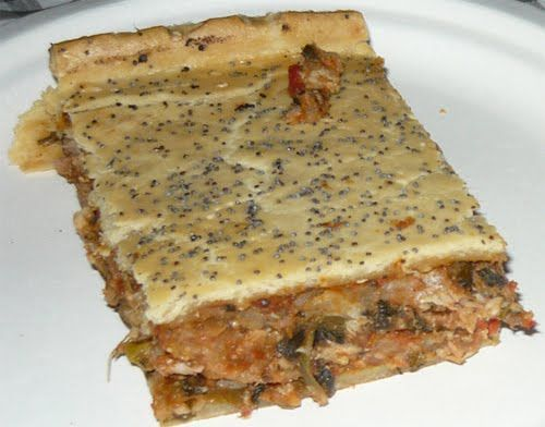 [What to Eat] Maltese Lampuki Pie  #Food #Cuisine #Malta