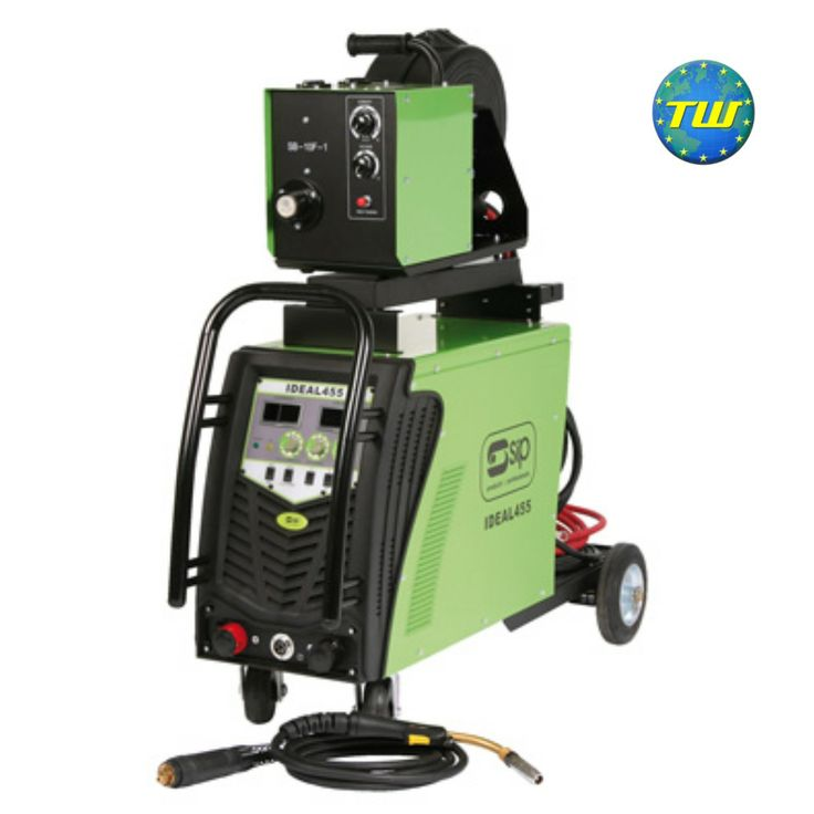 SIP 05173 Ideal 455 MIG/Arc Inverter Welder – 350A MIG – 250A Arc http://www.twwholesale.co.uk/product.php/section/7131/sn/SIP05173