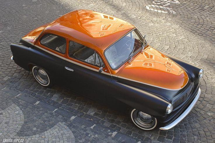 Octavia Custom 1960 < starší < auta < skoda-virt.cz/