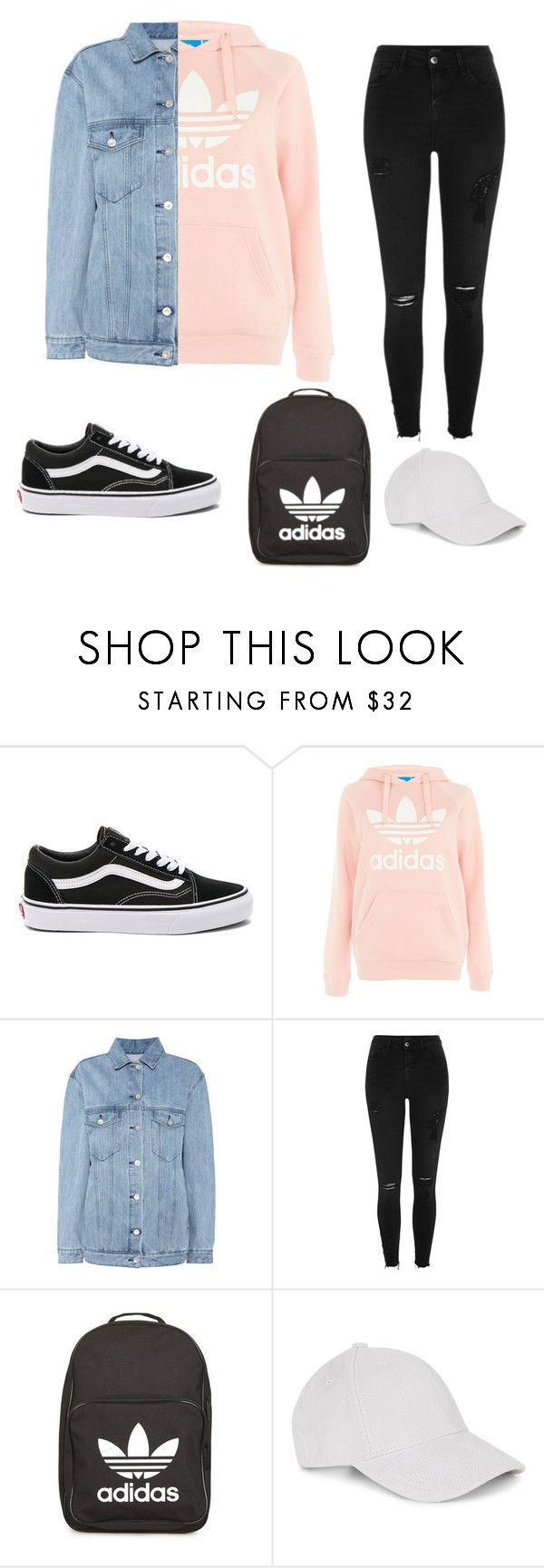 """"" by alishabbarton on Polyvore featuring Vans, Topshop, Être Cécile, River Island, adidas and Le Amonie"