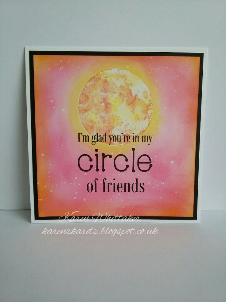 Moon stamp and Circle of friendship stamp by Bee Crafty  #beecraftystamps #moonstamp #sun #bright #distressinks #stamping #stamp #cardmaking #card #creative #craft #ilovetocraft