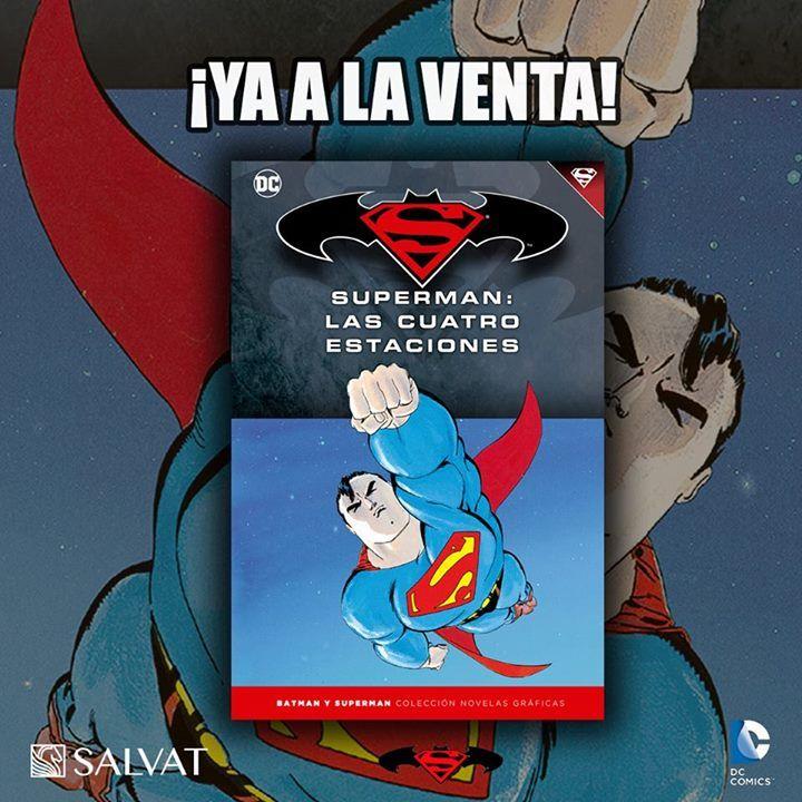 Lo estábais esperando... Ya a la venta el décimoséptimo tomo de la colección de Batman y Superman: ¡SUPERMAN: LAS CUATRO ESTACIONES! :D #SuperHero #Batman #SuperHeroes #Marvel