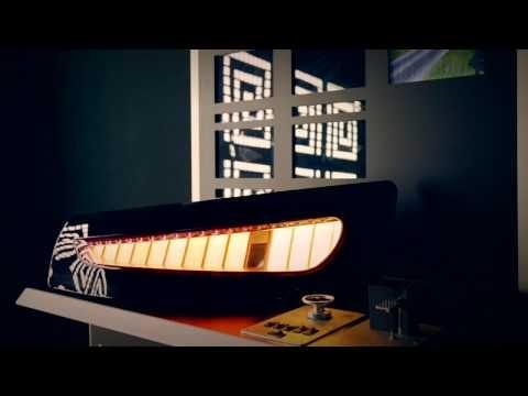 Lumiblade OLEDs at Dezeen