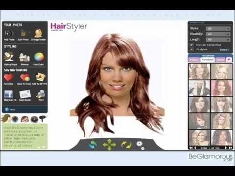 Hairstyles simulator  #hairstyles #simulator
