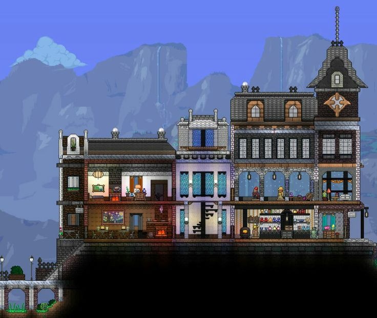 I haven't seen this style much in Terraria!