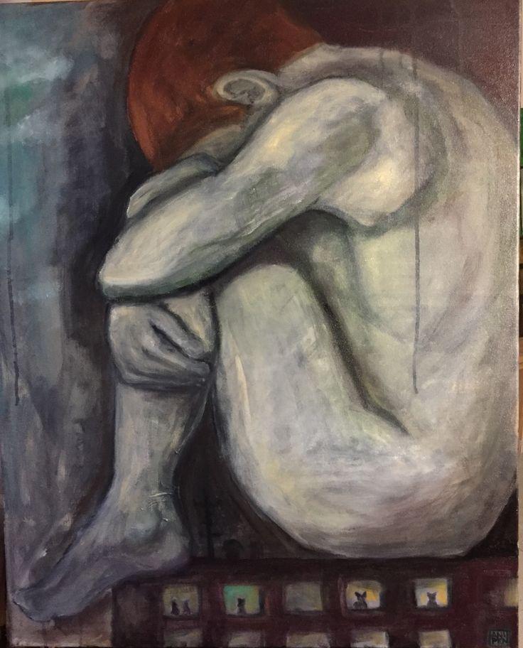 2016, oil on canvas Anu Pensola