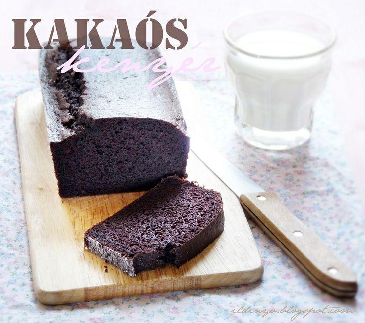Hozzávalók: egy csipetnyi szeretet: Egyszerű kakaós kenyér (glutén- és tejmentesen)