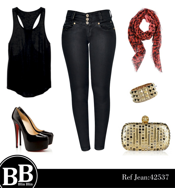 Un look Fabuloso para este comienzo de año. We love Fashion !! www.blinblinjeans.com