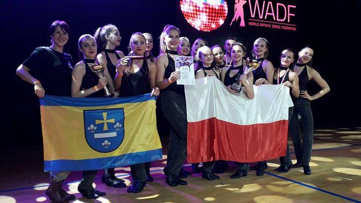 Tancerze Akademii Tańca 4-20 mistrzami i wicemistrzami Europy WADF