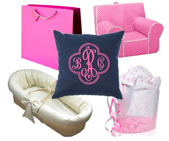 60 best monogram baby shower images on pinterest baby shower stuff baby shower gift ideas monogrammed pillow 95 negle Gallery