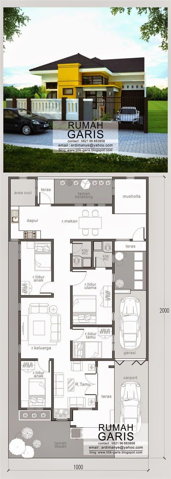 Contoh Desain Rumah Mungil Minimalis Blog Koleksi Desain Rumah
