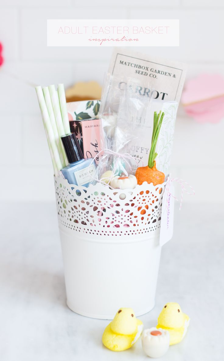 Best 25 easter gift for adults ideas on pinterest easter crafts adult easter basket inspiration negle Images
