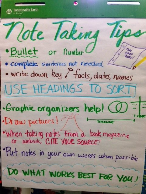 Note taking tips                                                                                                                                                                                 More