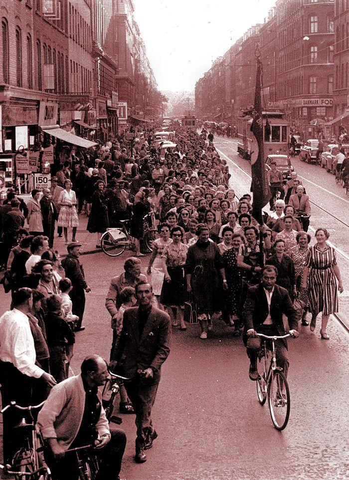 Carlsberg kvinder i demo - Istedgade