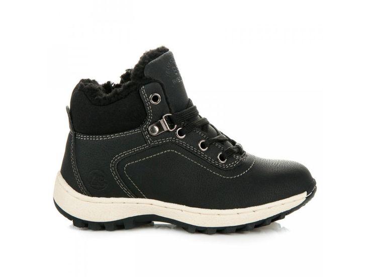 Detská zimná obuv v kožušinou Ax Boxing | NAJ.SK
