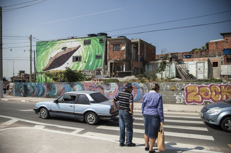 Brazils Coolest Graffiti Is In Grajaú, São Paulo
