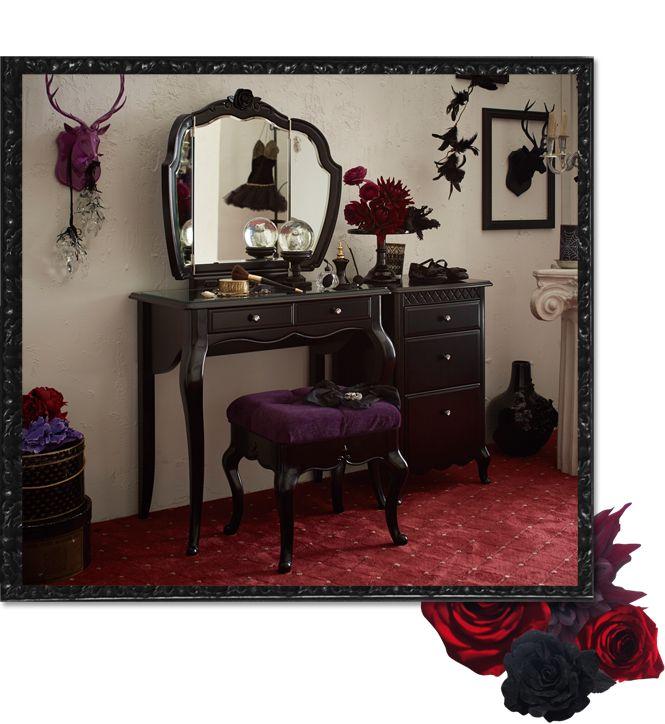Lolita Interior かわいい姫系インテリア家具・姫系雑貨の通販|ロマプリ・ロマンティックプリンセス