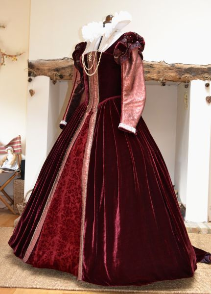 Lovely, rich velvet, Jane Eleanor Costumes