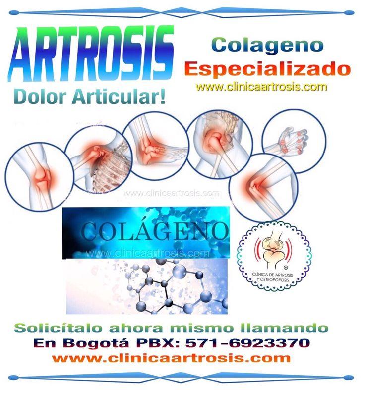 Colageno especializado en artrosis, osteoporosis, sarcopenia, osteosarcopenia, inflammaging articular. Visítenos en la Clínica de Artrosis y Osteoporosis www.clinicaartrosis.com PBX: 6836020, Teléfono Movil: 317-5905407 en Bogotá - Colombia.