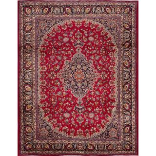 For Ecarpetgallery Hand Knotted Clic Persian Red Wool Area Rug 9 11