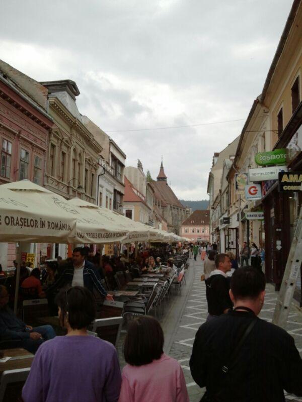 Strada Republicii, Braşov.