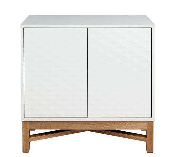Buy Hygena Zander Textured Sideboard White& Oak Effect at Argos co uk, visit Argos co uk to