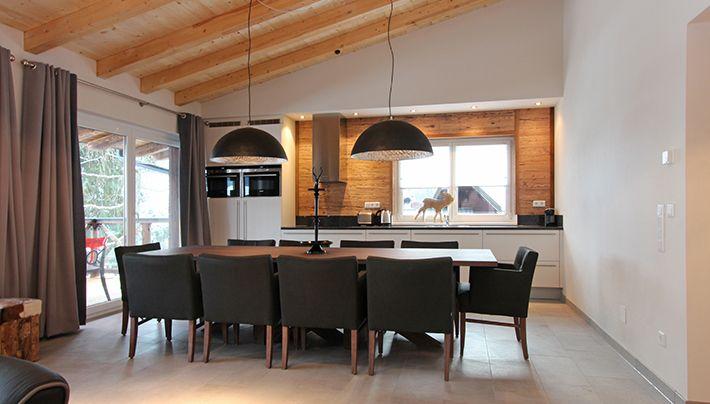 Kitchen #penthouse Avenida Mountain Lodges Kaprun