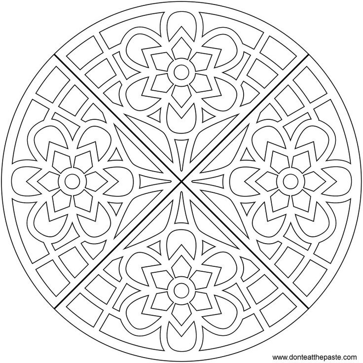 coloring pages for grownups -Waffle mandala coloring page- also available in transparent PNG format #coloring