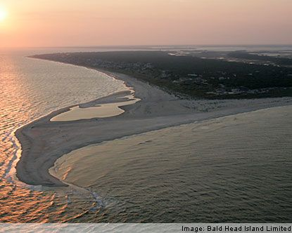 Bald Head Island, NC - every August our family would go down to our beach house for the month. What a perfect place!