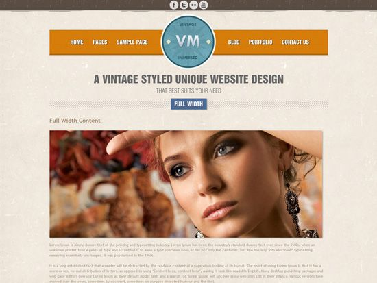 Retro Responsive WordPress Themes