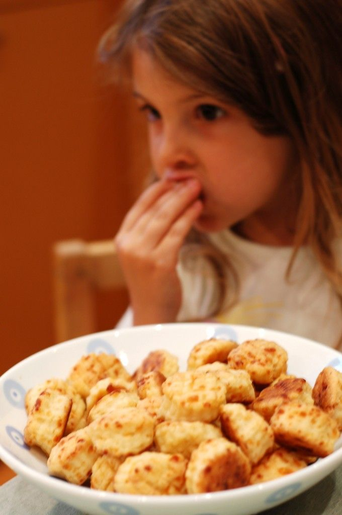 """Oh how I love these! Pogacsa are little Hungarian cheesy biscuits that, if made correctly, are so buttery they will melt in your mouth! My grandma's are amazing, but she is the type of cook who does a """"pinch of this and that"""" and I need a very specific recipe because I am not a good cook."""