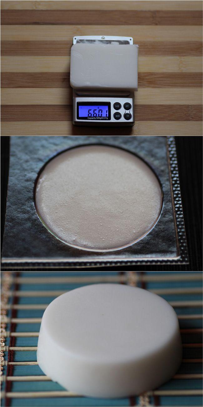 Creamy Homemade Coconut Soap