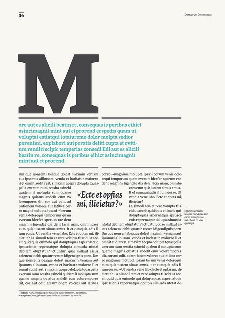 #editorial #design #layout #typogrphy