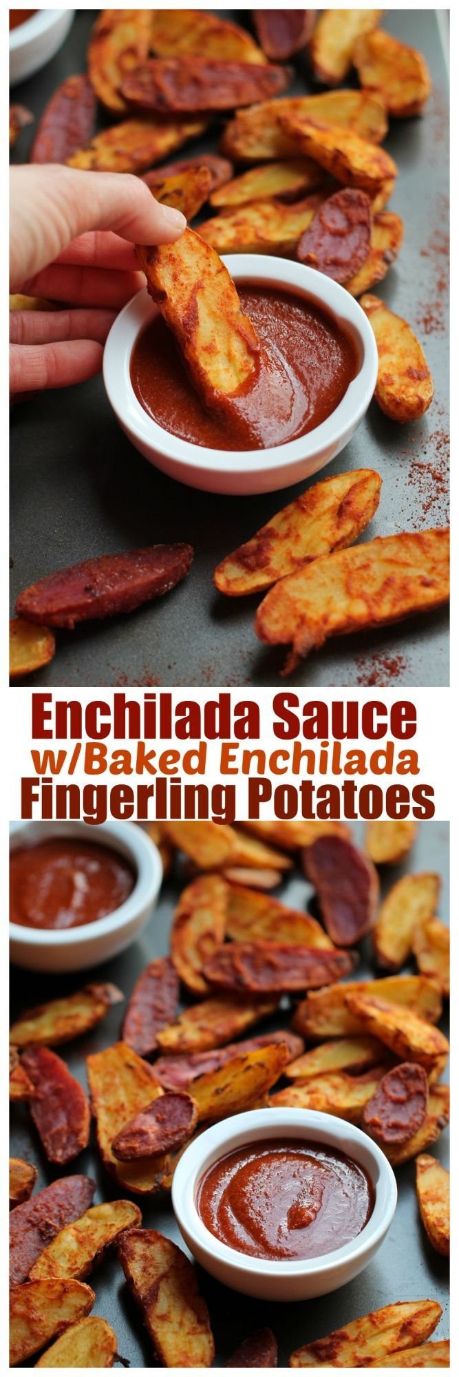 One of my absolute favorite things in the world is enchiladas. I grew up eating them and I just love that spicy enchilada sauce that is smothered all over the corn tortillas. I love the enchilada s...