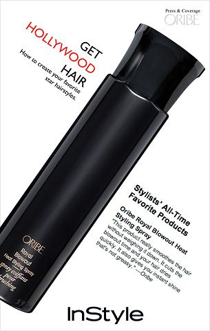 I'm falling in love with Oribe.  This is on the top of my list for ultraperformance.Bombs Dots, Amazing Stuff, Hair Tame, Amazing Products, Dry Hair, Heat Style, Add Soft, Blowout Heat, Blowout Products