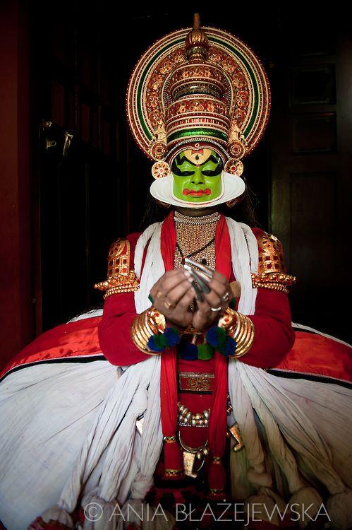 Kathakali dancer -  Kerala.