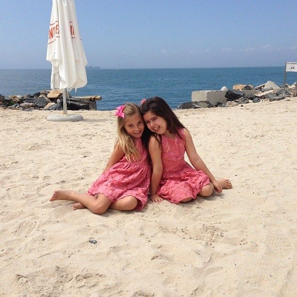 Sophia Grace and Rosie having fun in the sun in South Africa.