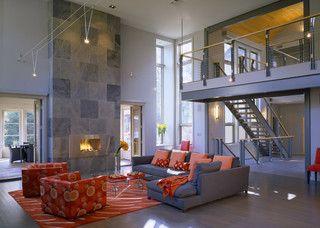 - contemporary - living room - boston - by Siemasko + Verbridge