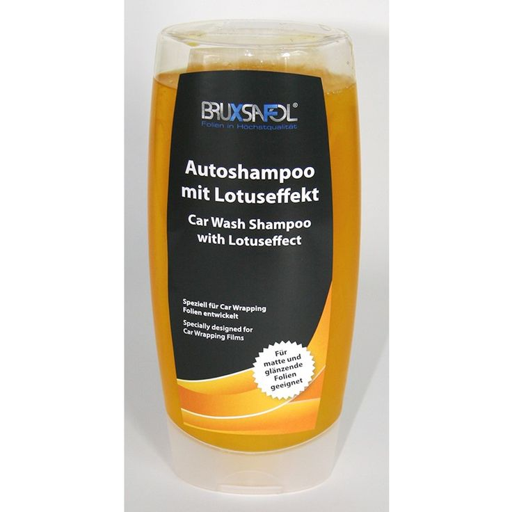 Bruxsafol Car Wrapping Autoshampoo mit Lotuseffekt speziell für Folien entwickelt und auch geeignet für Lacke – Für matte und glänzende Oberflächen geeignet