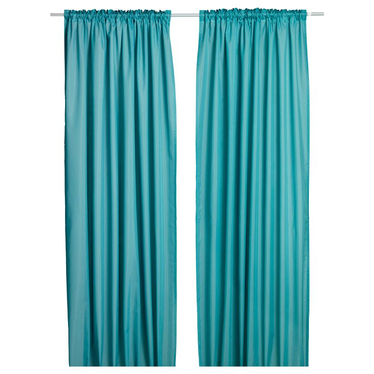 VIVAN Curtains, 1 pair - IKEA. $13 alternate with white for the dining room. Can use again for frozen party