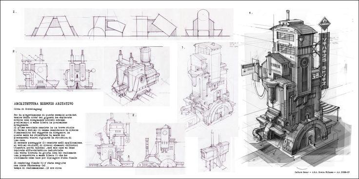 Oscar Cafaro: concept design visual development
