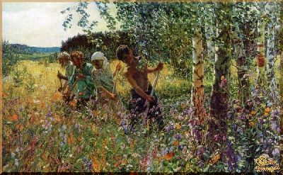 Plastov- 9 Репродукция, картины, сувенир, подарки