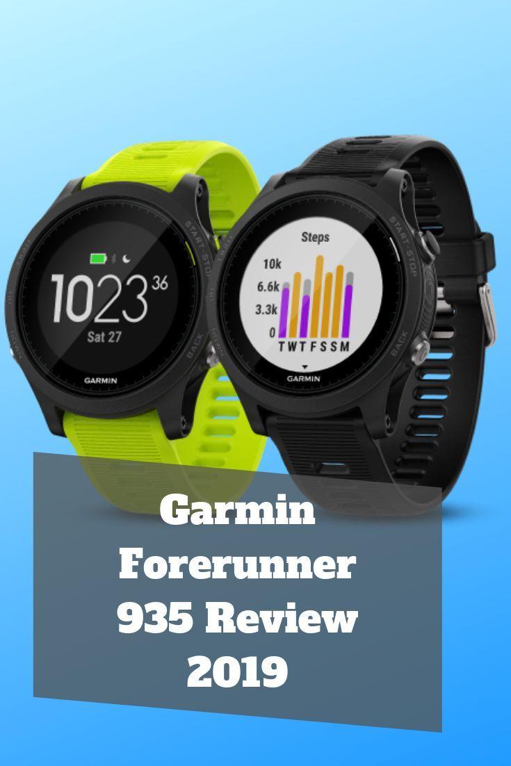 Garmin Forerunner 935 Review 2019 Garminforerunner Forerunner Forerunner935 Review 2019 Usafitnesstrac Garmin Forerunner Garmin Fitness Watches For Women