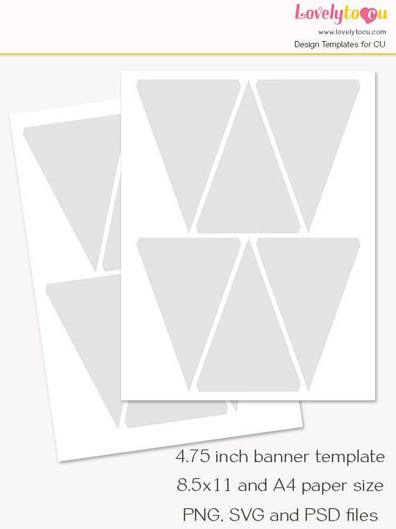 Best 25+ Pennant banner template ideas on Pinterest Free banner - pennant banner template